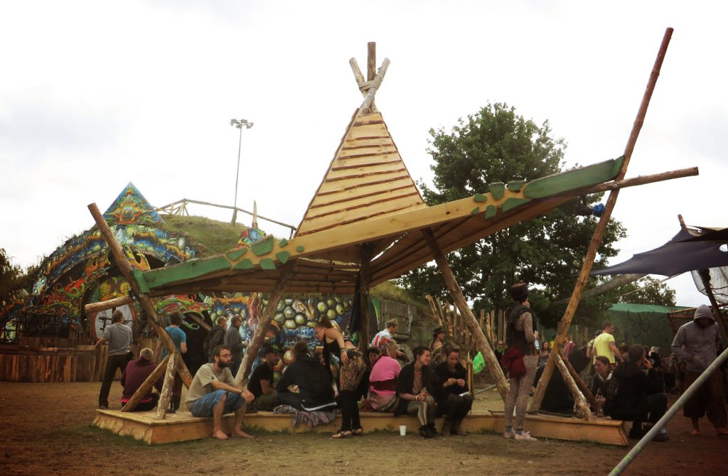 Freqs Of Nature Festival 2015 | Wood Hut